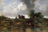 A Wooded River Landscape