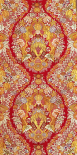 Textile With Design of Lace and Flowers