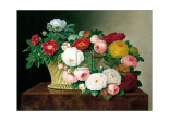 Still Life with Roses in a Basket