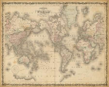 Johnsons Map of the World