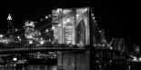 Brooklyn Bridge at Night, 1982