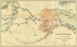 Northwestern America Showing The Territory Ceded By Russia To The United States, 1867