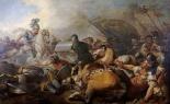 A Battle Between Two Roman Legion Enemies