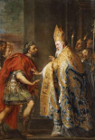 The Emporer Theodosius Before Saint Ambrose