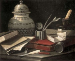 Still Life with Writing Accessories