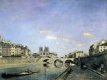 The Seine and Notre-Dame in Paris