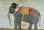 Portrait of The Elephant Alam-Guman Gajraj