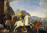 Saint James at The Battle of Clavijo
