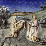 Adam and Eve From Speculum Humanae Salvationis