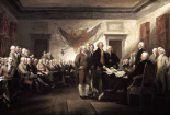 Signing of The Declaration of Independence, 1817-1819
