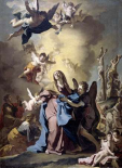 The Virgin Swooning on Calvary