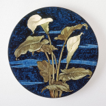 Charger - Calla Lily Pattern