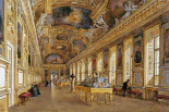 The Interior of The Louvre