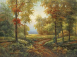Early Autumn Path