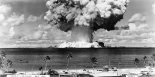 Bikini Atoll - Operation Crossroads Baker Detonation - July 25, 1946: DBCR-T1-318-Exp #6 AF434-4