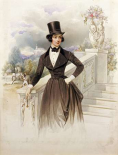 Lady In Riding Habit