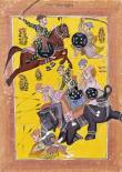 Sindhu Ragini on Horseback