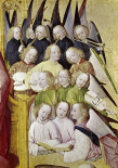 Choir of Angels - Detail-Life of The Virgin