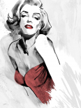 Marilyns Pose Red Dress