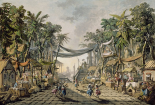 Market Scene in an Imaginary Oriental Port