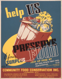 Help us preserve your surplus food