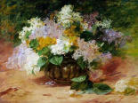 A Still Life of Lilacs
