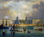 A View of Greenwich, From The River