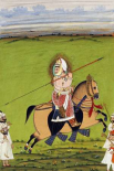 Equestrian Portrait of Maharana Jawan Singh