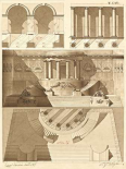 Plate 56 for Elements of Civil Architecture, ca. 1818-1850