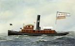 M. Moran Tug Boat