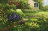 Chalets Flower Garden