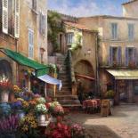 Flower Market Courtyard