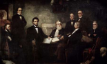The First Reading of the Emancipation Proclamation