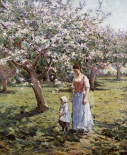 Promenade Among The Blossoms