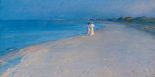 Summer evening at the South Beach, Skagen