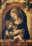 The Madonna and Child at a Marble Parapet