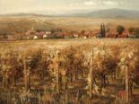 Italian Golden Vineyard