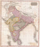 Pinkerton Map of India, 1818