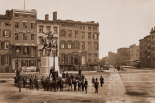 14th Street with Union Square and Washington Monument, about 1855