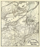Central Vermont. RR. excursion routes, 1879