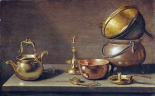 A Still Life of Kitchenware