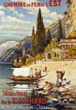 Suisse Et Italie Par Le St Gothard
