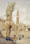 An Arab Street Scene, Cairo