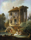 Washerwomen Outside The Temple of The Sibyl, Tivoli