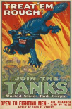 Treat em Rough - Join the Tanks, 1917