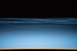 Noctilucent Clouds Over Earth