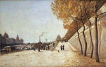 A View of The Conciergerie, Paris