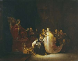 The Queen of Sheba Before King Solomon