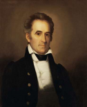 Portrait of American Statesman Richard Mentor Johnson
