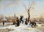 The Village Snowman
